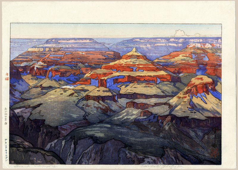 """The Grand Canyon (First State)"" by Yoshida, Hiroshi"