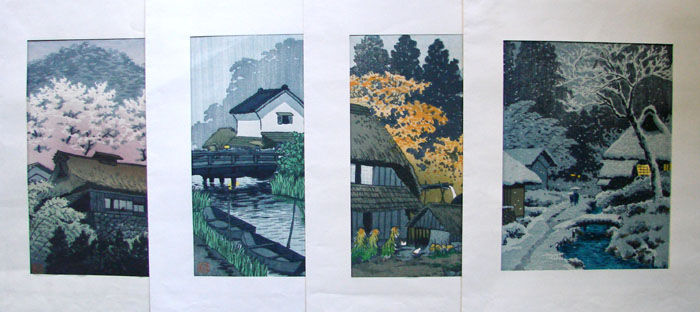 """The Four Seasons Series"" by Kasamatsu, Shiro"