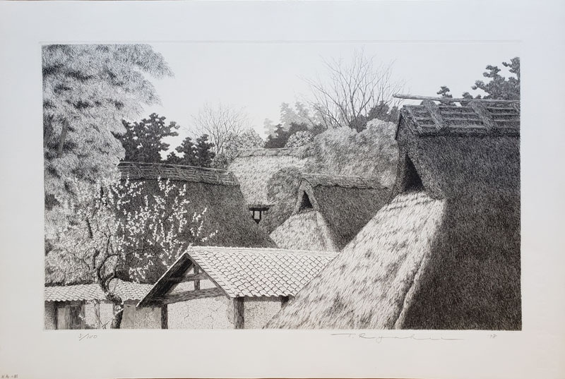 """Village in Early Spring"" by Tanaka, Ryohei"