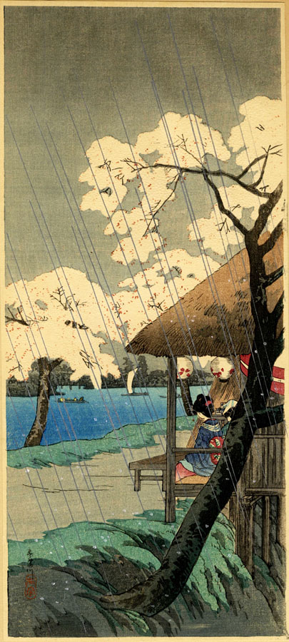 """Sumidagawa River"" by Shotei, Takahashi"