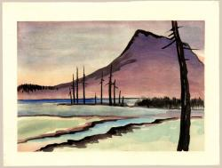 Thumbnail of Original Japanese Woodblock Print by Obata, Chiura