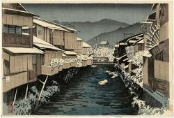 Thumbnail of Original Japanese Woodblock Print by Kanpo, Yoshikawa