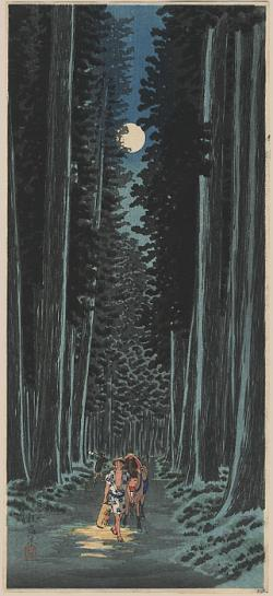 Thumbnail of Original Japanese Woodblock Print by Shotei, Takahashi