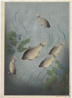 Thumbnail of Original Japanese Woodblock Print by Bakufu, Ohno