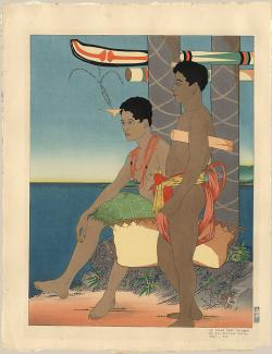 Thumbnail of Limited Edition Woodblock Print by Jacoulet, Paul
