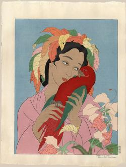Thumbnail of Original Japanese Woodblock Print by Jacoulet, Paul