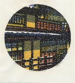 Thumbnail of Original Japanese Woodblock Print by Karhu, Clifton
