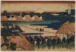 Thumbnail of Original Japanese Woodblock Print by Hokusai