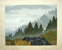 Thumbnail of Original Limited Edition Japanese Woodblock Print by Miyamoto, Shufu