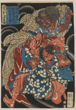 Thumbnail of Original Japanese Woodblock Print by Kuniyoshi