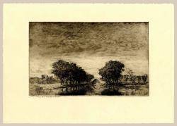 Thumbnail of Original Etching, Drypoint by Bartlett, Charles