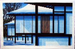 Thumbnail of Original Limited Edition Japanese Woodblock Print by Karhu, Clifton