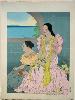 Thumbnail of Original Limited Edition Woodblock Print. by Jacoulet, Paul