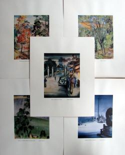 Thumbnail of Limited Edition Color Lithographs by Obata, Chiura