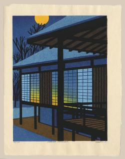 Thumbnail of Original, Limited Edition Woodblock Print by Karhu, Clifton