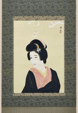 Thumbnail of Ink on Paper - scroll by Shinsui, Ito