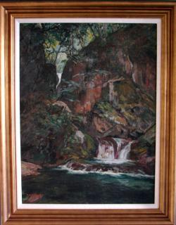 Thumbnail of Original Oil Painting on Canvas by Yoshida, Hiroshi