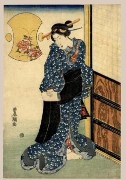 Thumbnail of Original Japanese Woodblock Print by Toyokuni II