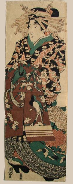 Thumbnail of Original Japanese Woodblock Print - Kakemono by Eisen