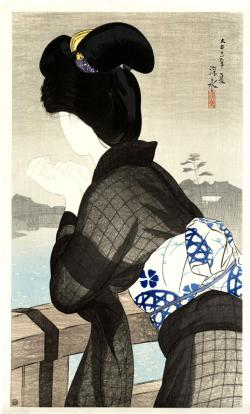Thumbnail of Original Limited Edition Japanese Woodblock Print by Shinsui, Ito