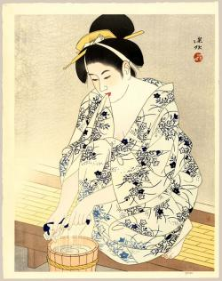 Thumbnail of Limited Edition Original Japanese Woodblock Print by Shinsui, Ito