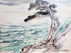 Thumbnail of Original Watercolor by Obata, Chiura