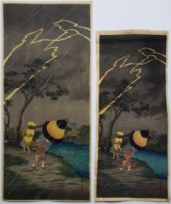 Thumbnail of Original Japanese Woodblock Prints by Shotei, Takahashi