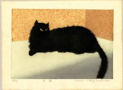 Thumbnail of Original Limited Edition Etching and Aquatint Print by Miyashita, Tokio